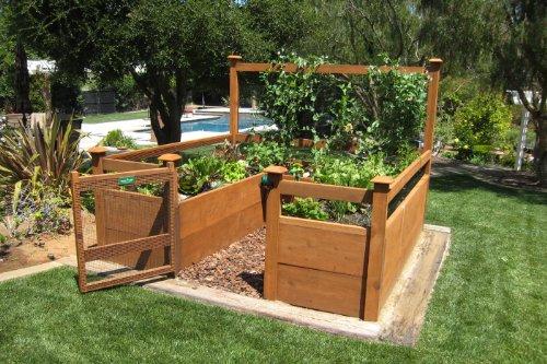 Raised Bed Gardening Guide Wheelbarrow Expert – U Shaped Raised Garden Bed Plans