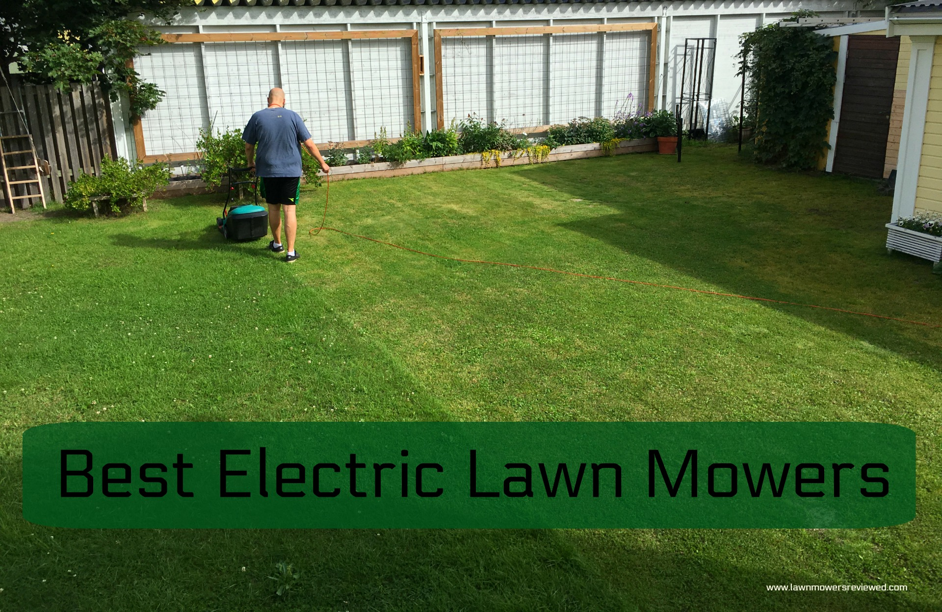 how to choose the best electric lawn mower