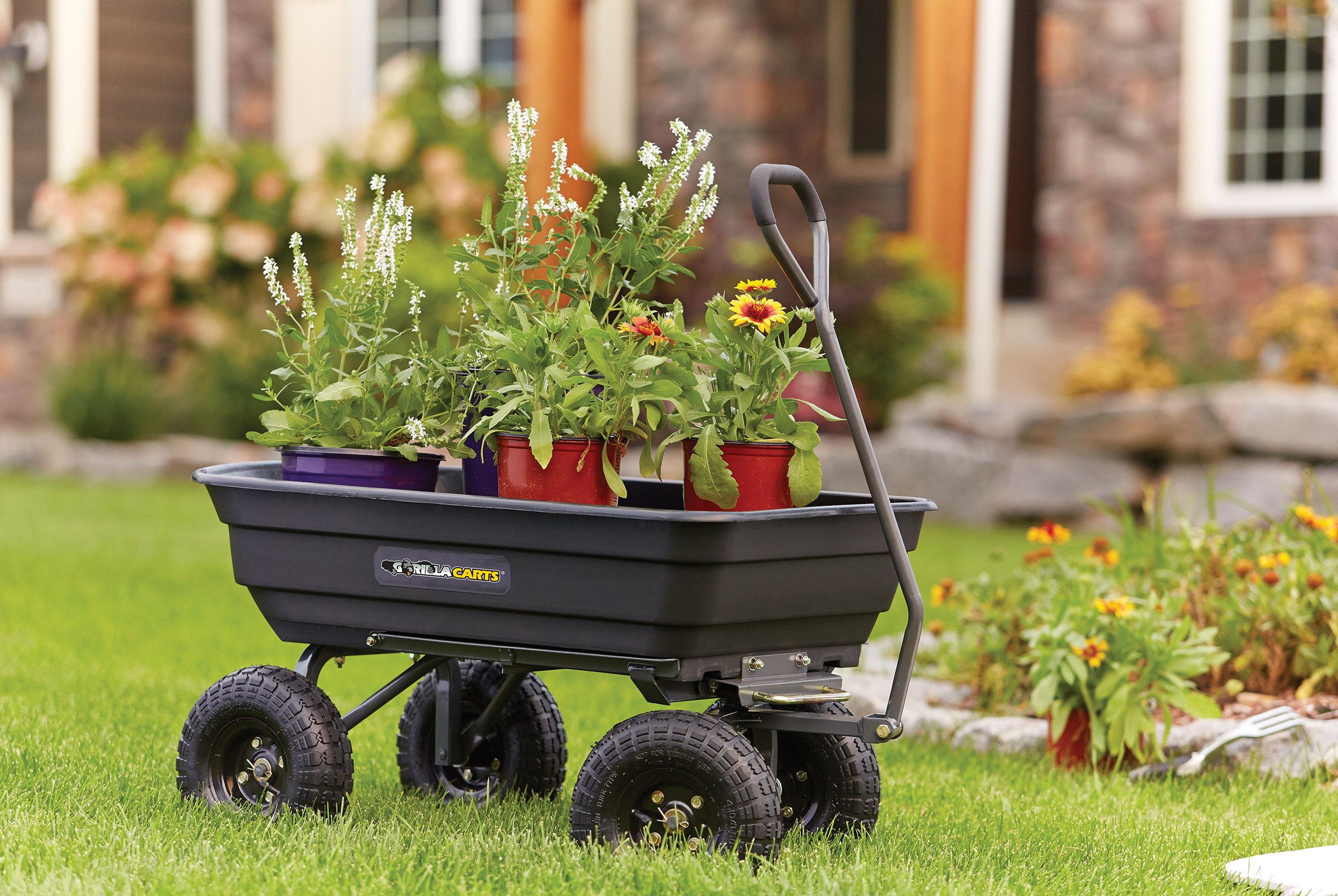 The Best Garden Cart - Mel's Garden
