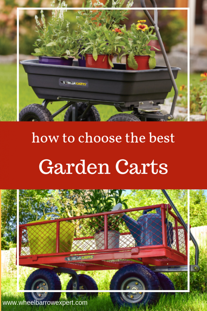 This guide to the best garden cart will help you choose the best yard cart for your gardening or toting needs. Including Gorilla Cart, WORX aerocart, and folding garden cart.