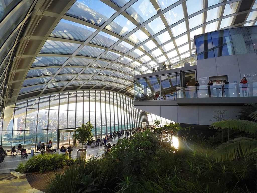 SkyGarden, London, England – Constance from The Adventures of Panda Bear