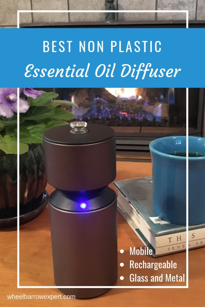 The best essential oil diffuser should be plastic-free and produce a healthy aroma. It's hard to find a non plastic essential oil diffuser that has a glass reservoir so your oils never touch plastic. These aromatherapy diffusers are both beautiful and healthy. #essentialoils #nebulizingdiffuser #plasticfree | best essential oil diffusers products | aromatherapy diffuser | glass essential oil diffuser | plastic free living | plastic free products