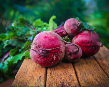 Growing vegetables like these beets is part of growing a climate friendly garden